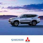 Book a Pajero Sport Test drive at Shakti Motors Mumbai