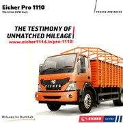 Eicher Pro 1110-The Testimony of Unmatched Mileage - Other vehicles